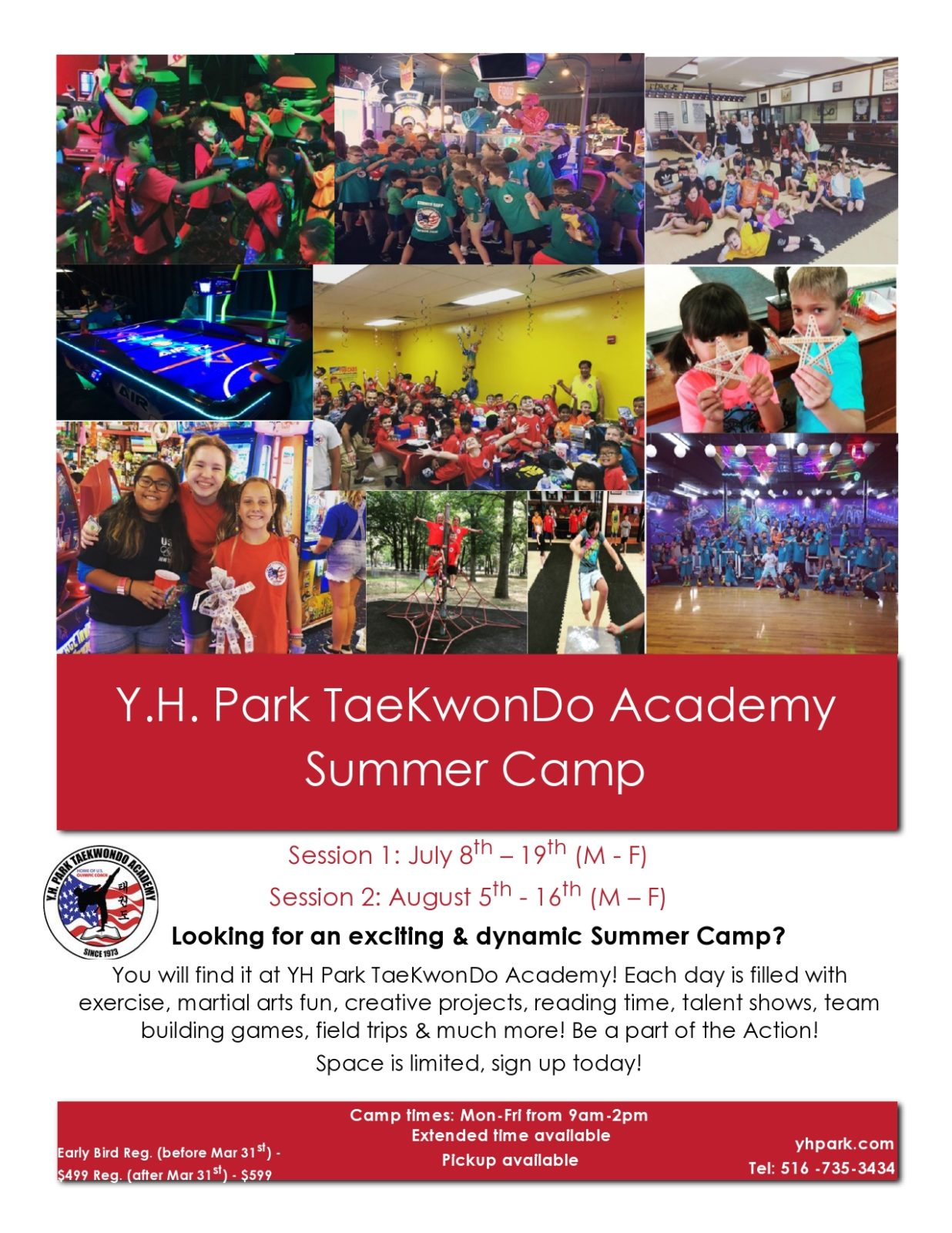 Free summer camp flyer 18