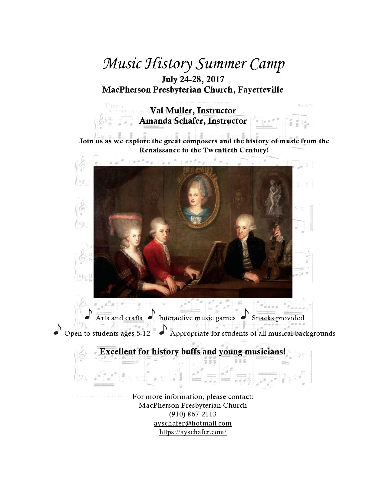 Free summer camp flyer 23