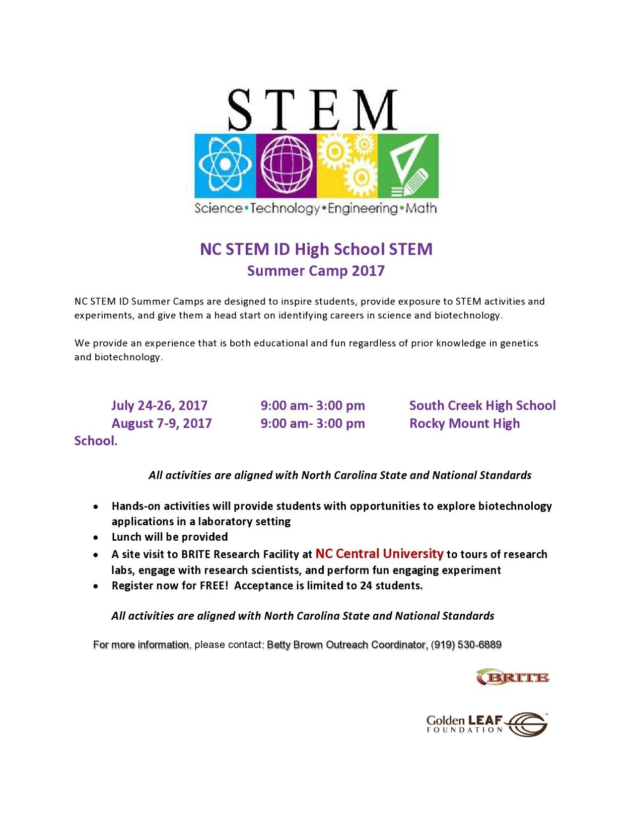 Free summer camp flyer 24