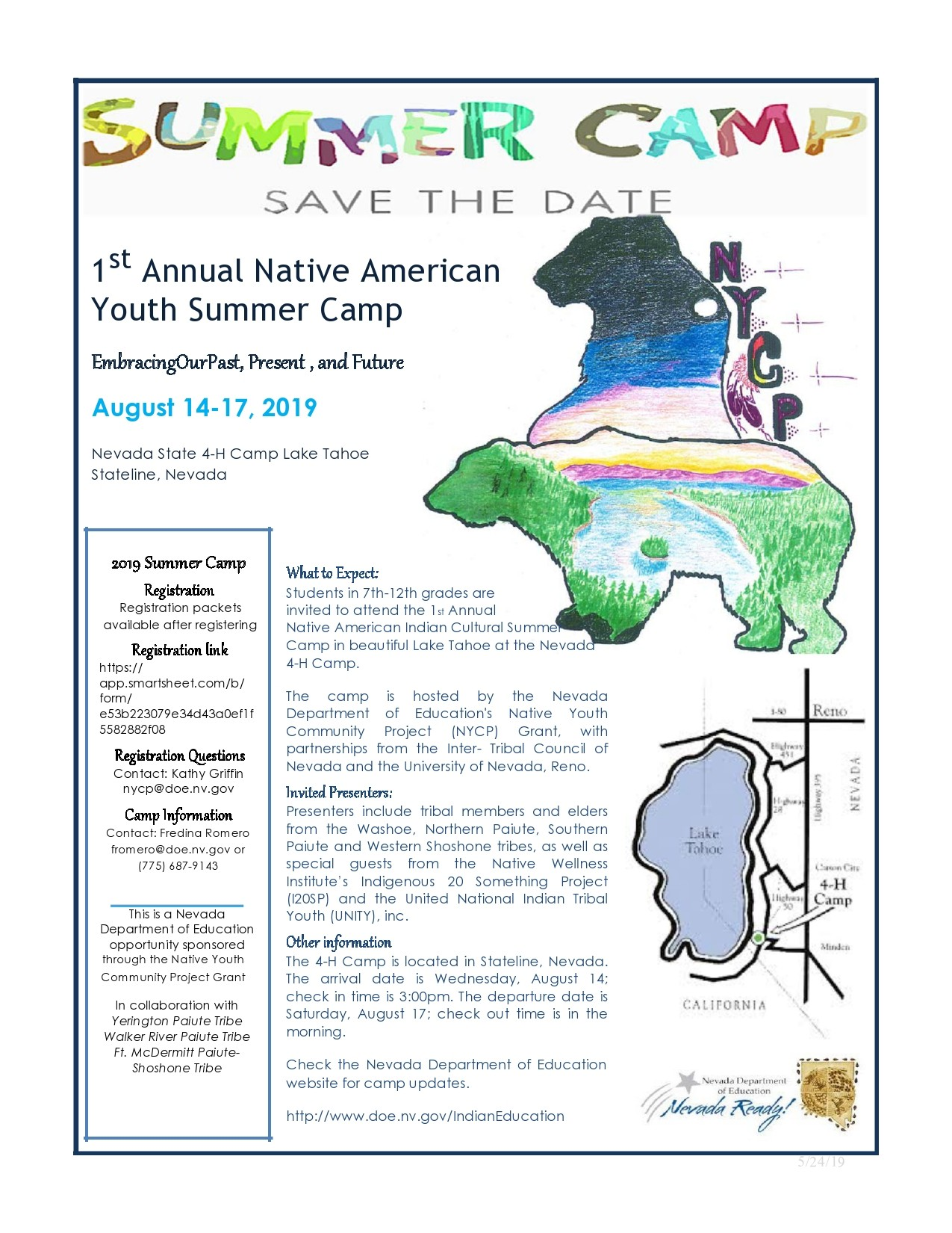 Free summer camp flyer 27