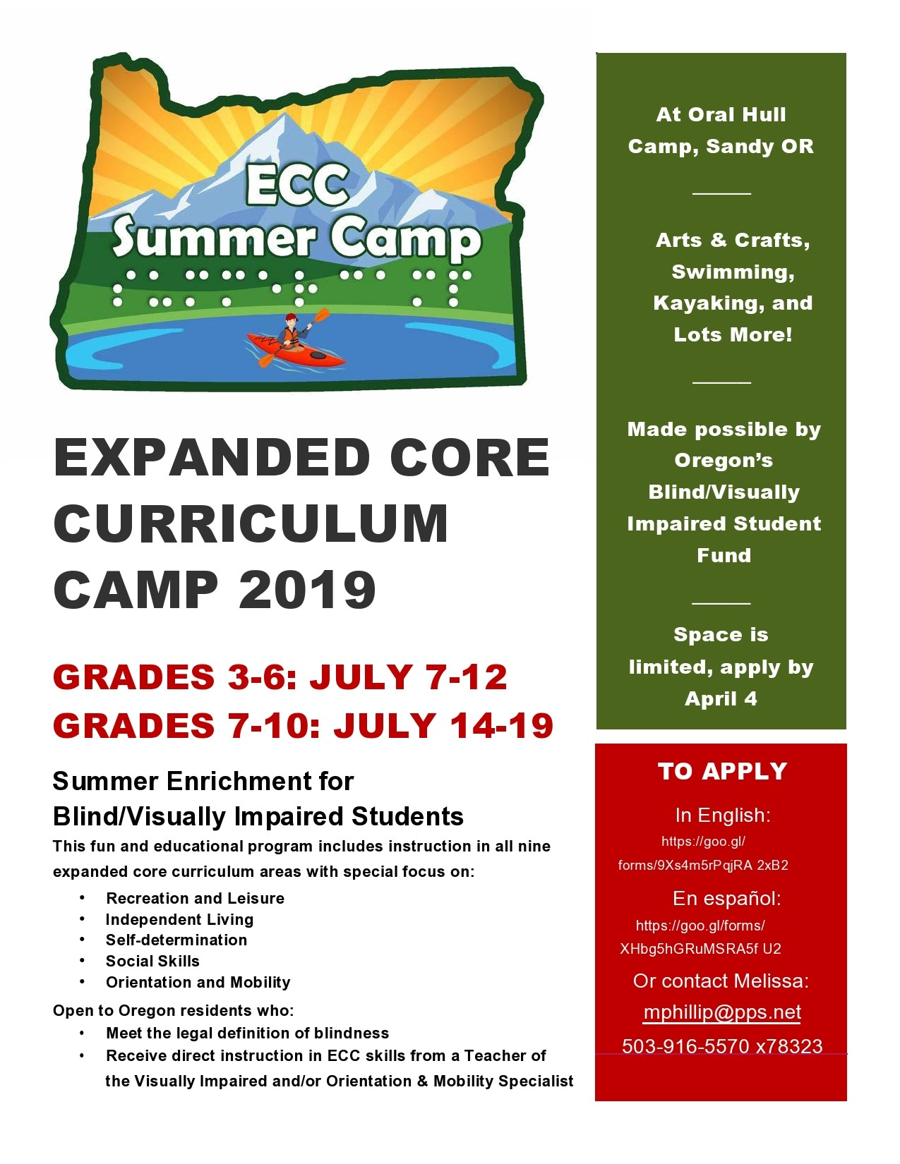 Free summer camp flyer 32