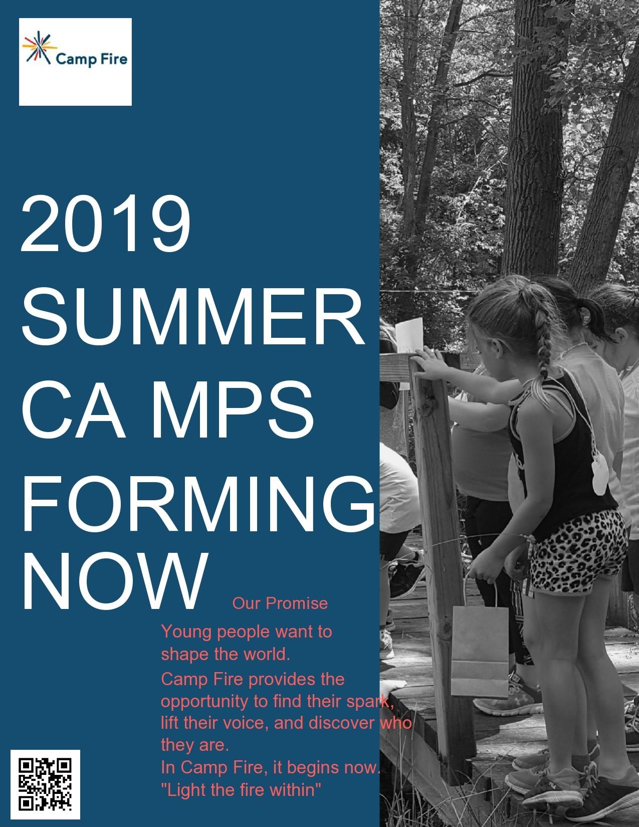 Free summer camp flyer 35