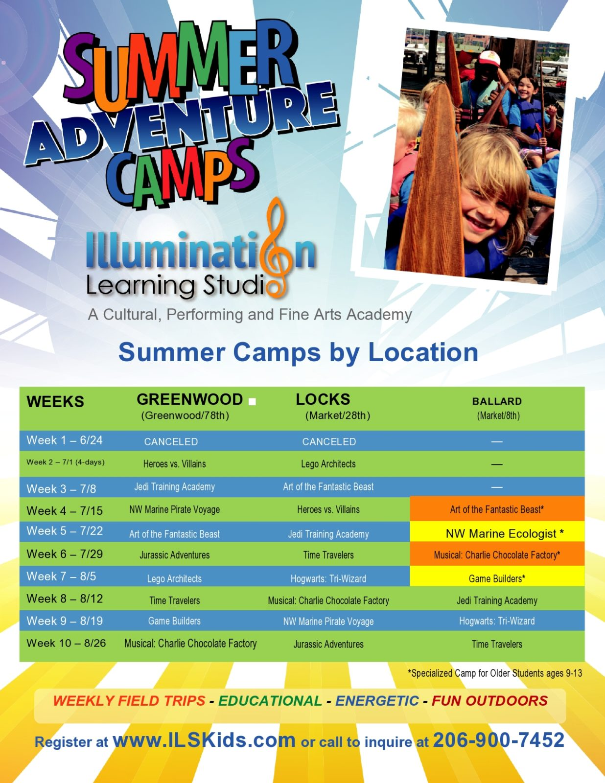 Summer Camp Flyers