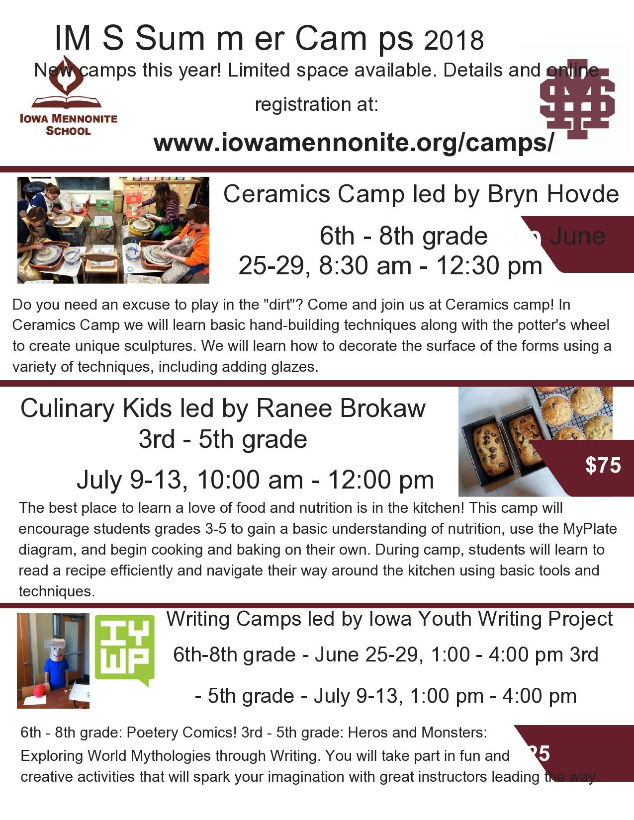 Free summer camp flyer 41