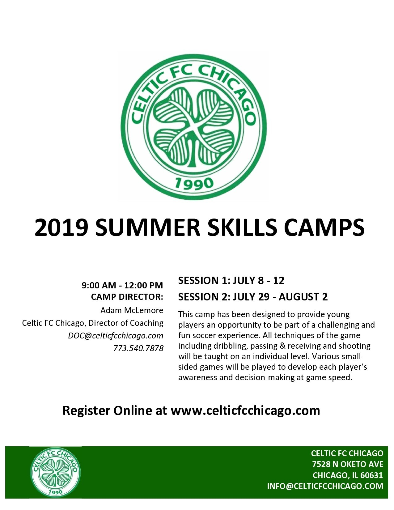 Free summer camp flyer 42