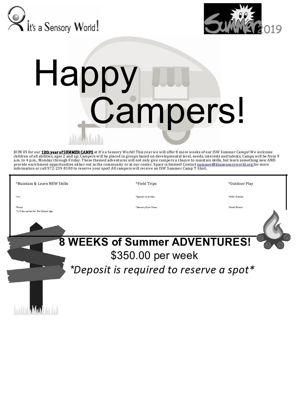 Free summer camp flyer 49