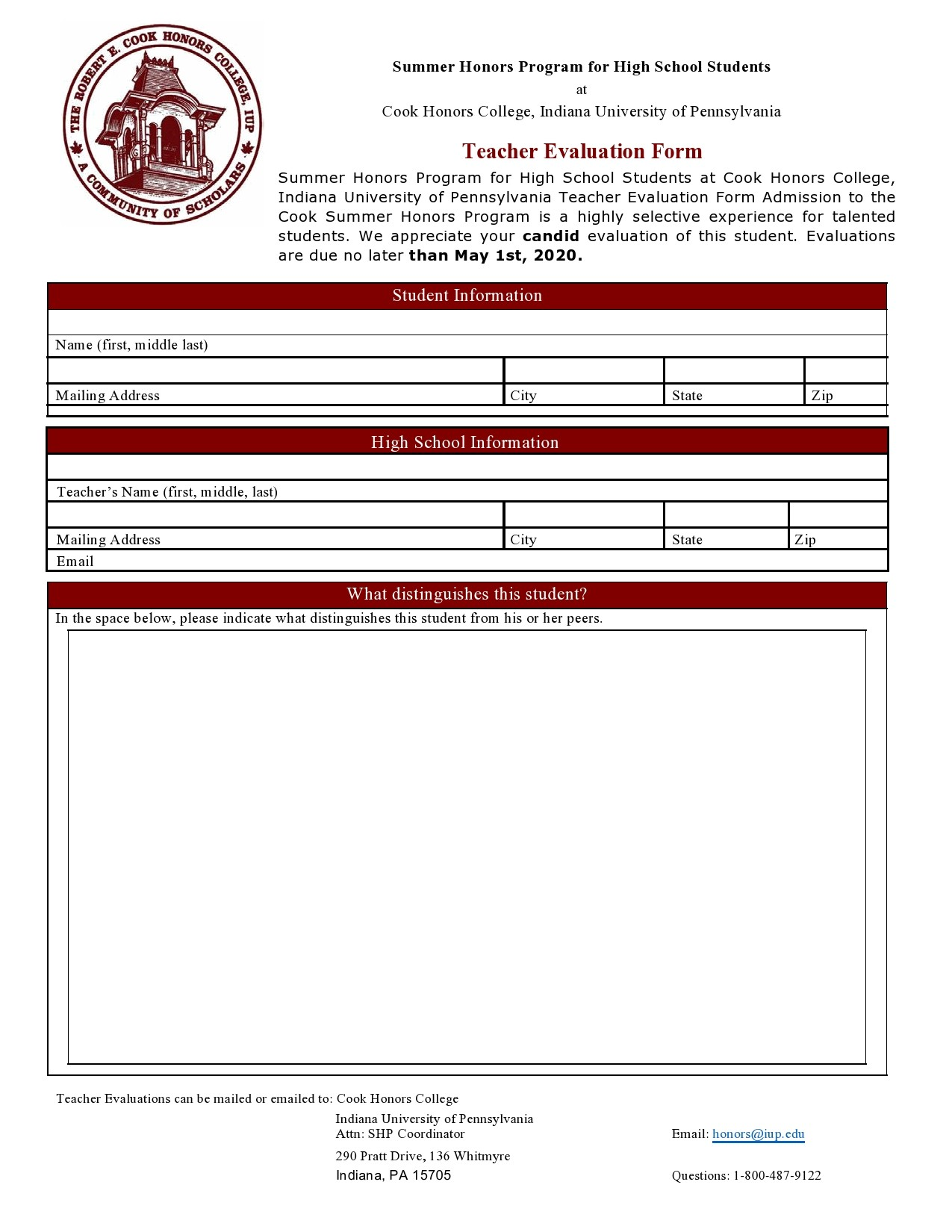 Free teacher evaluation form 35