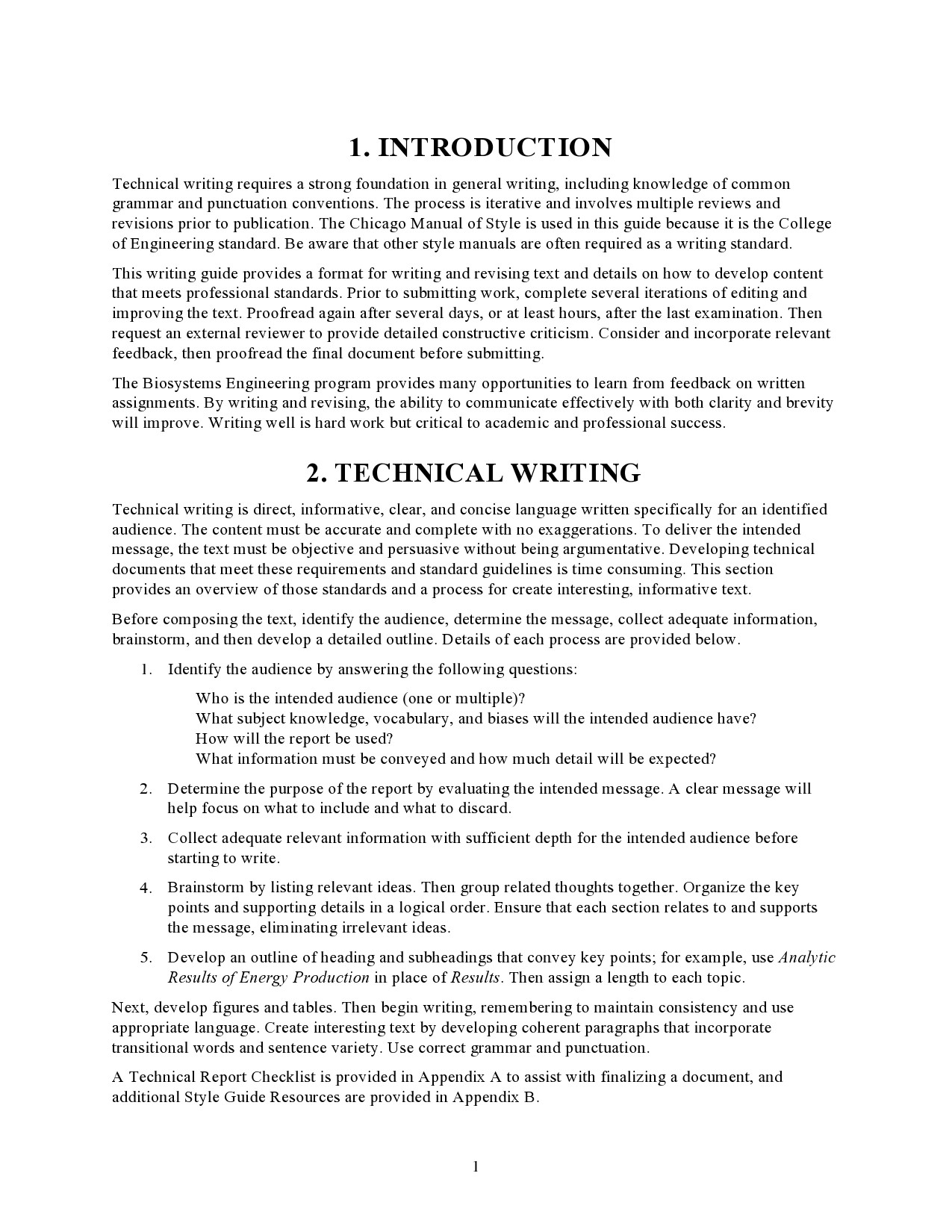 Free technical writing examples 01