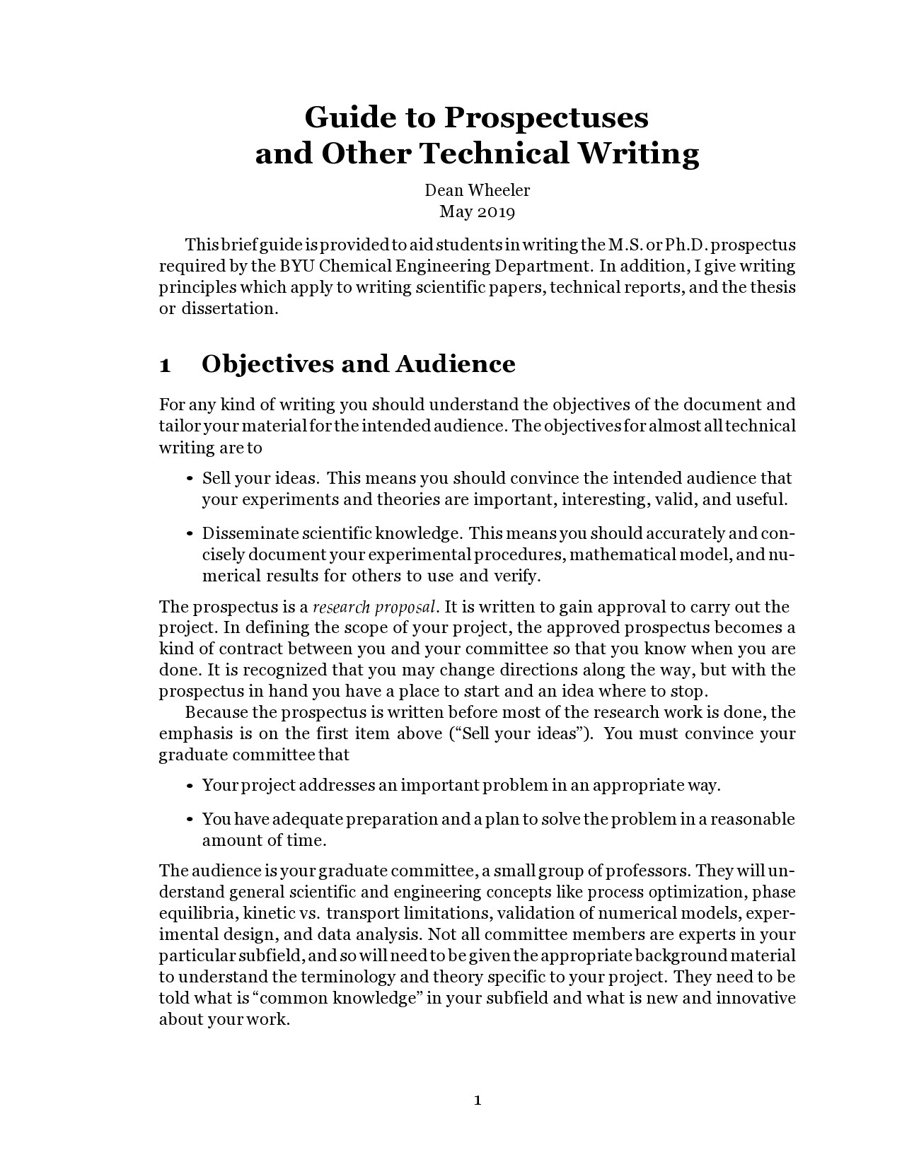 Free technical writing examples 18