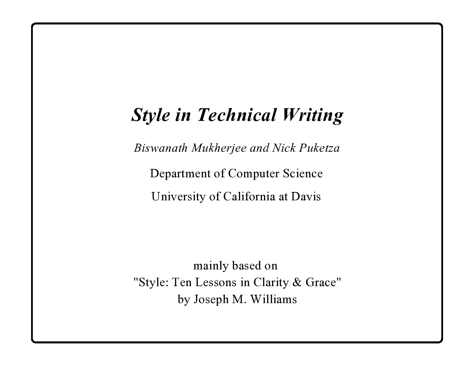 Free technical writing examples 25