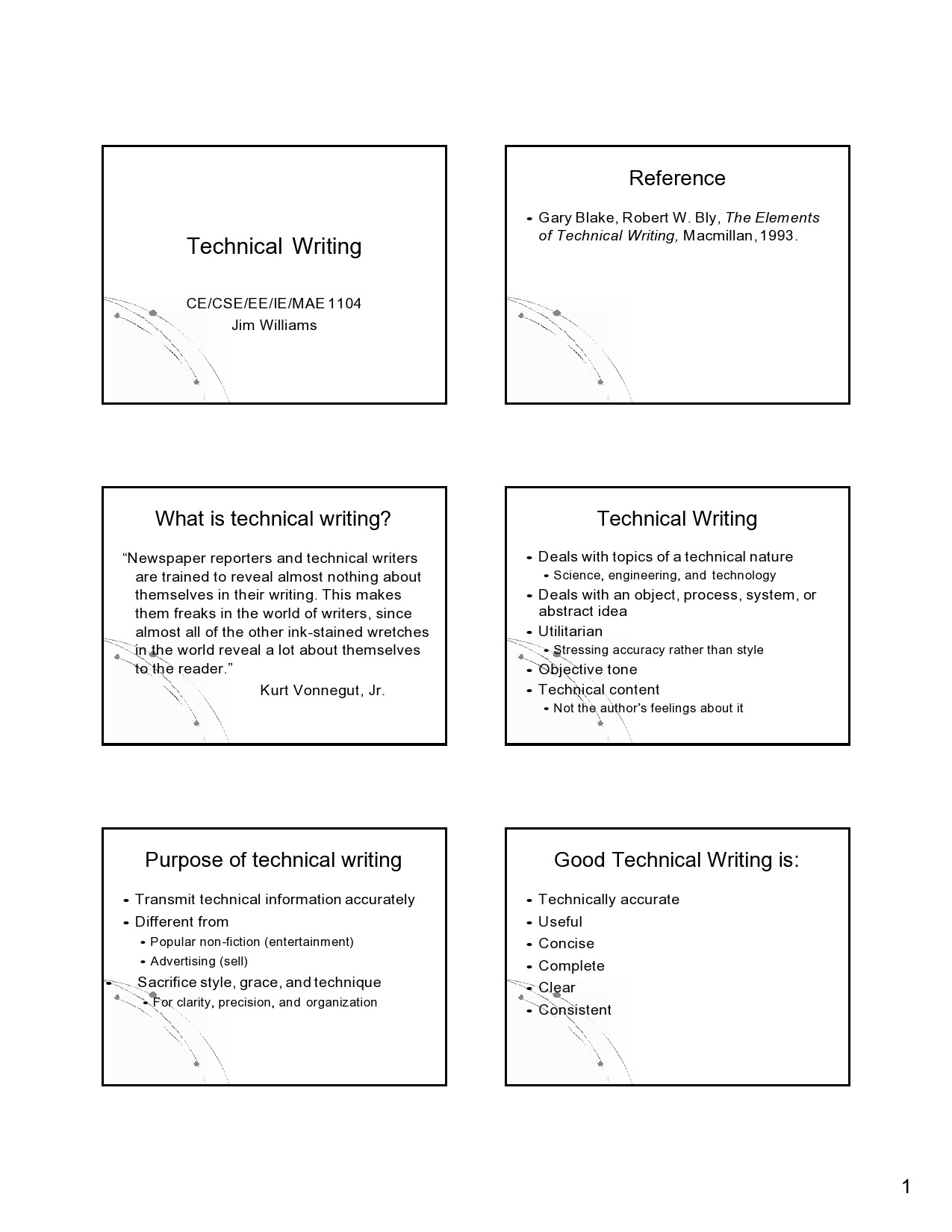 Free technical writing examples 26