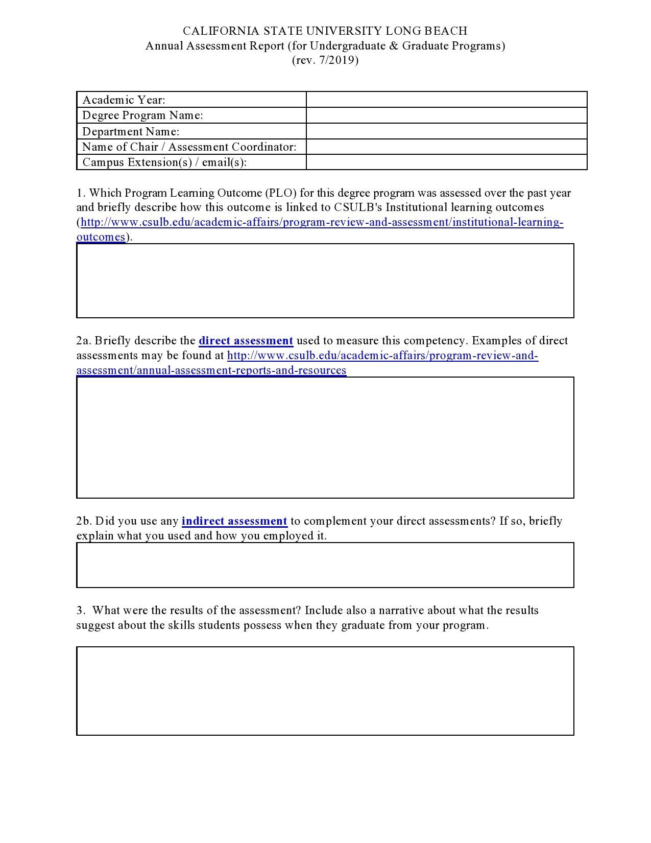 Free annual report template 09