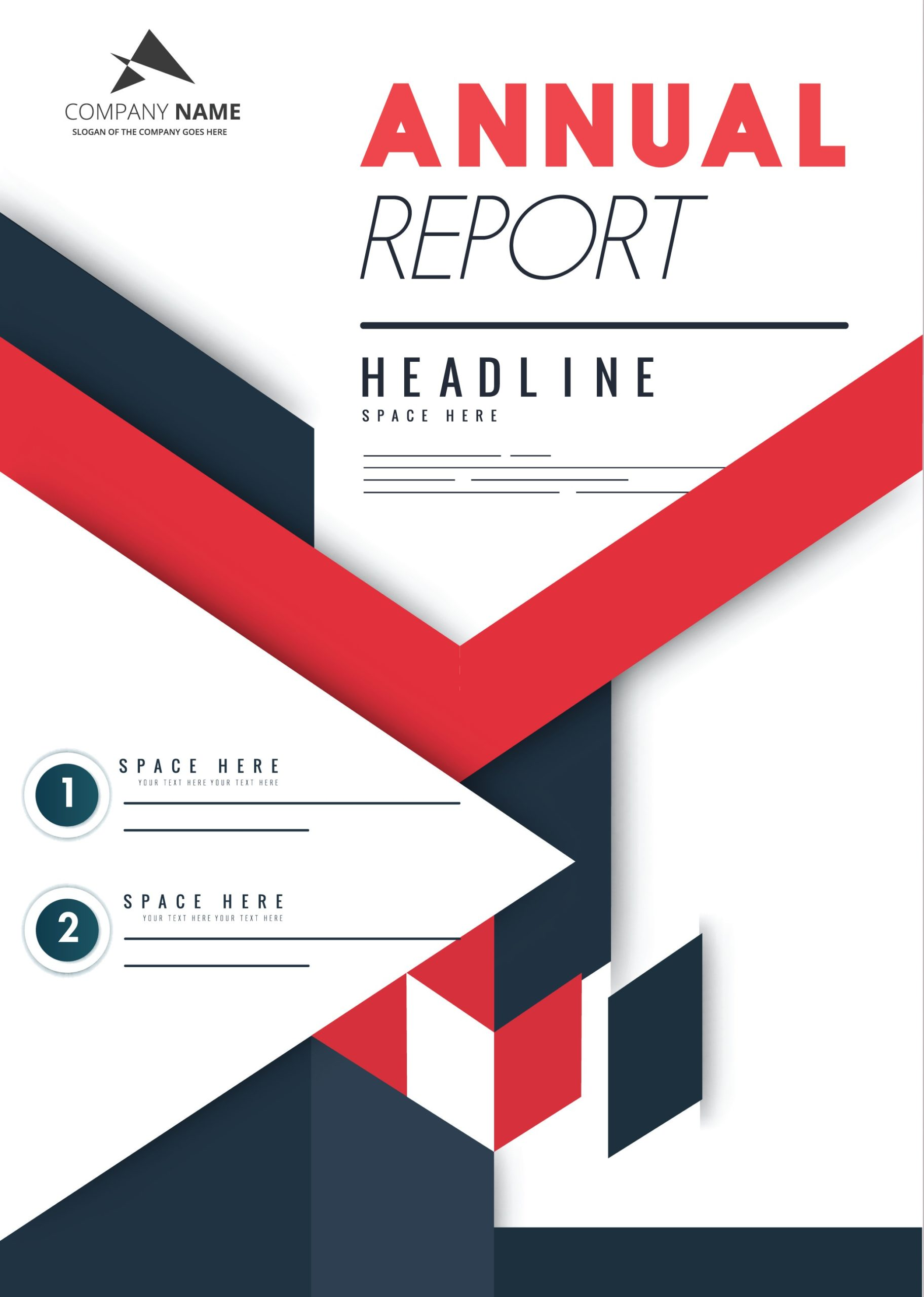 Free annual report template 27