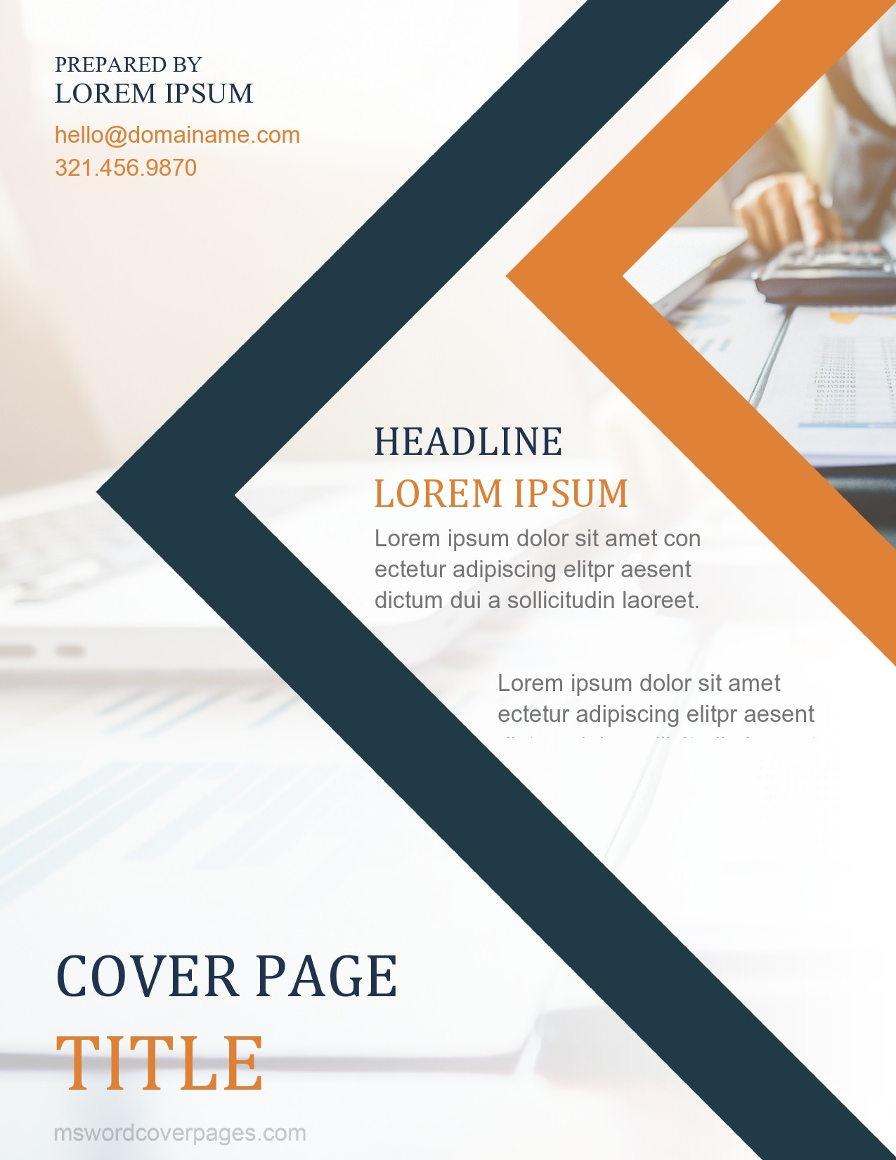 Free annual report template 36