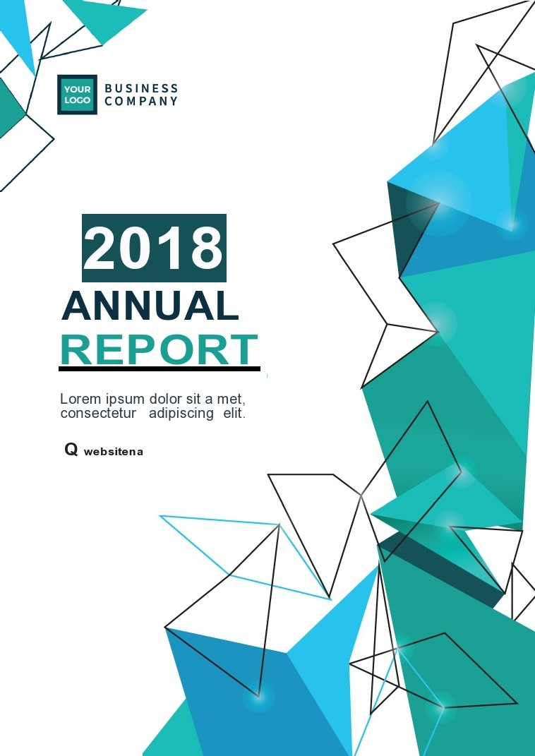 Free annual report template 39