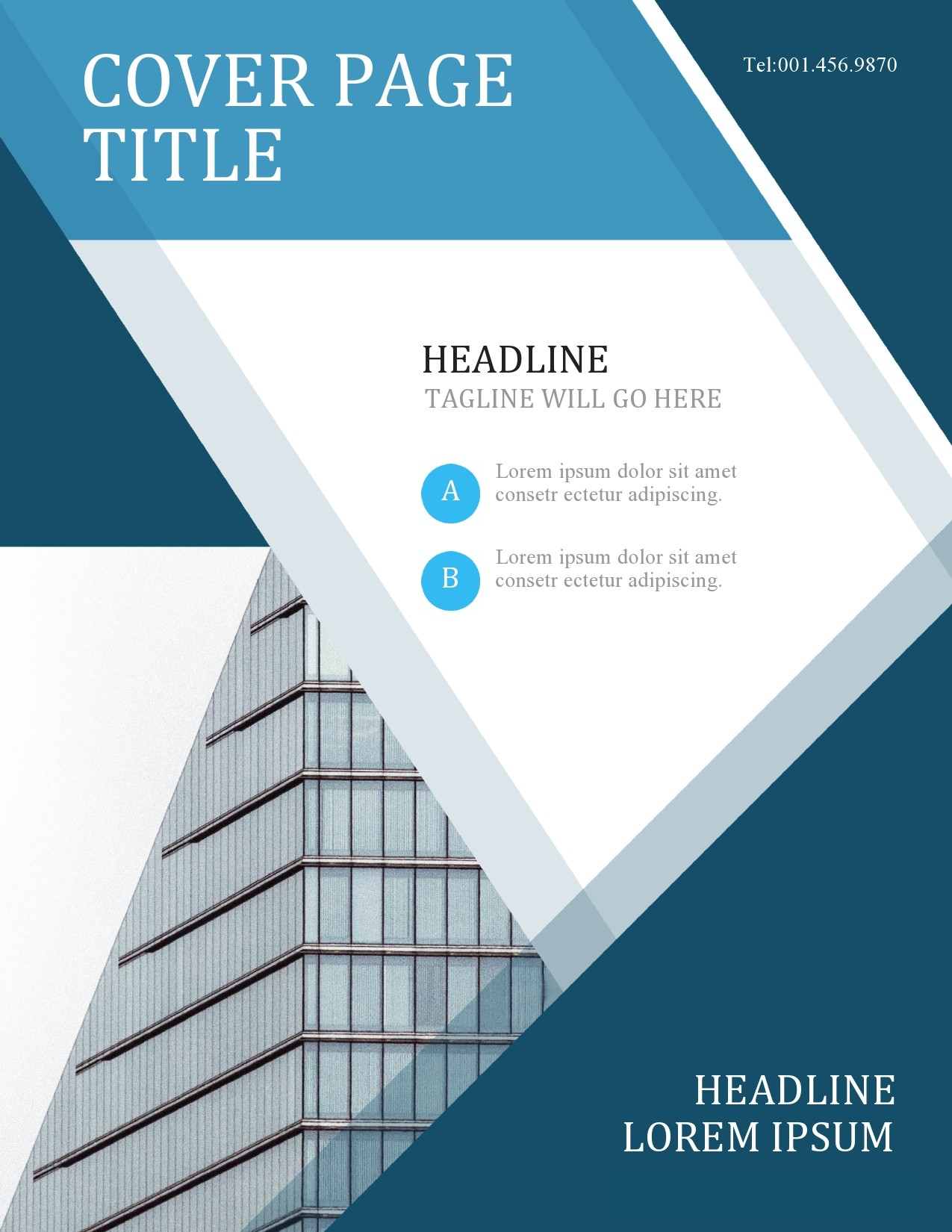 Free annual report template 43