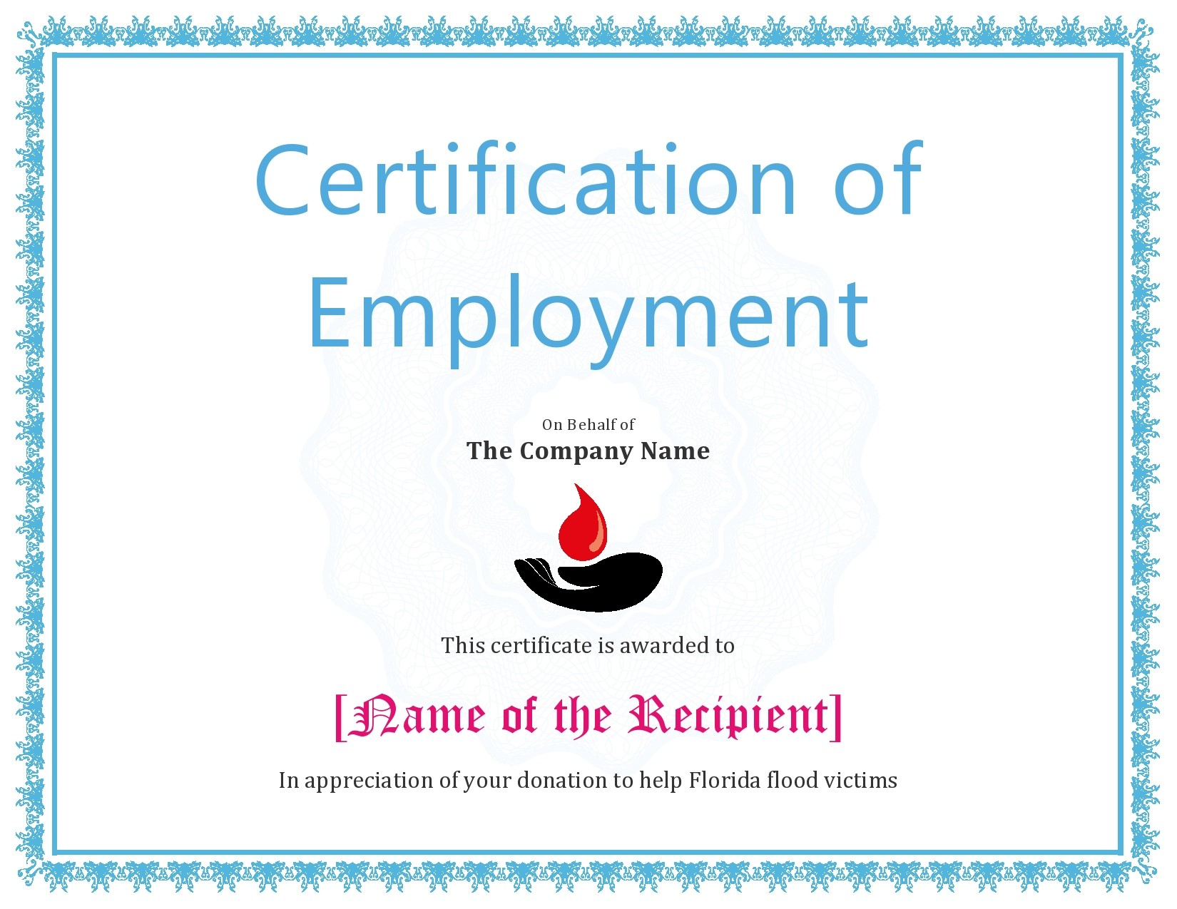 Free certificate of employment 28