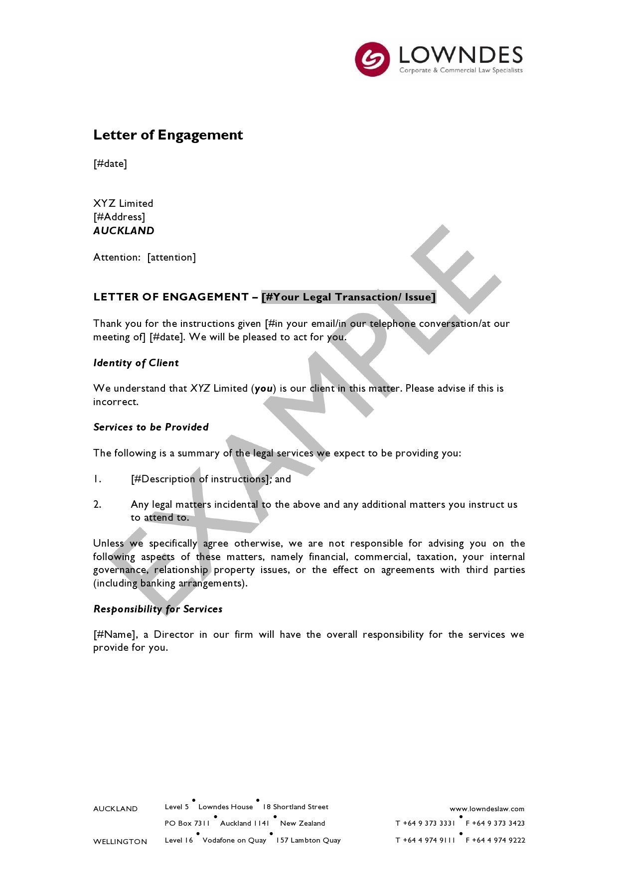 Free engagement letter 18