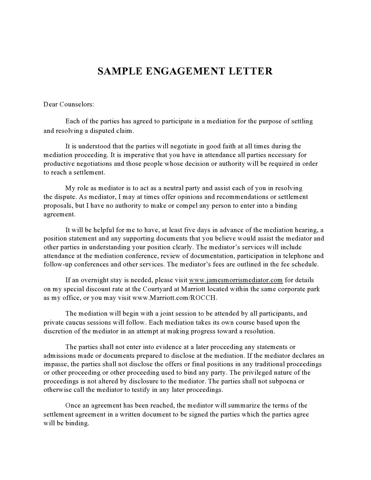 Free engagement letter 49