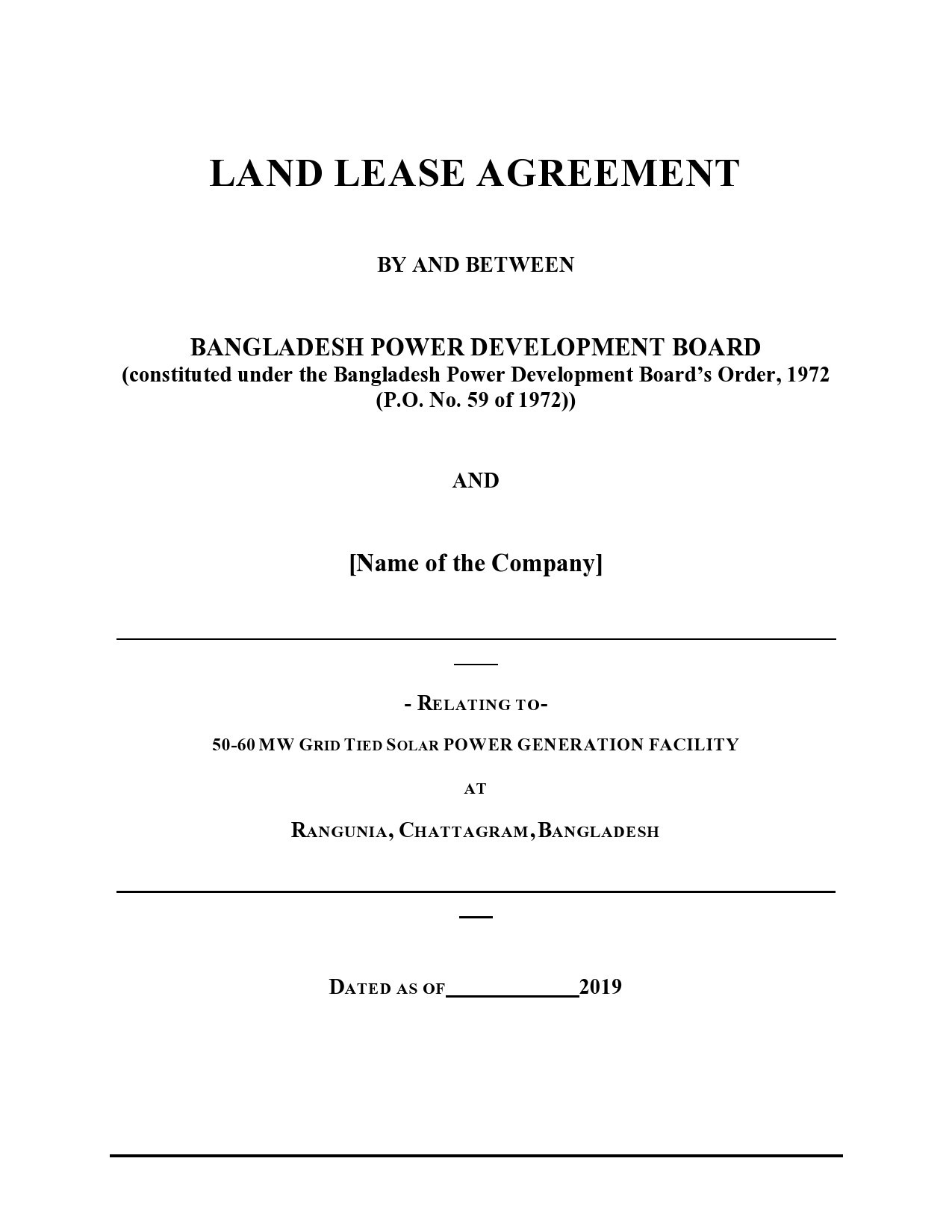 Free land lease agreement 06