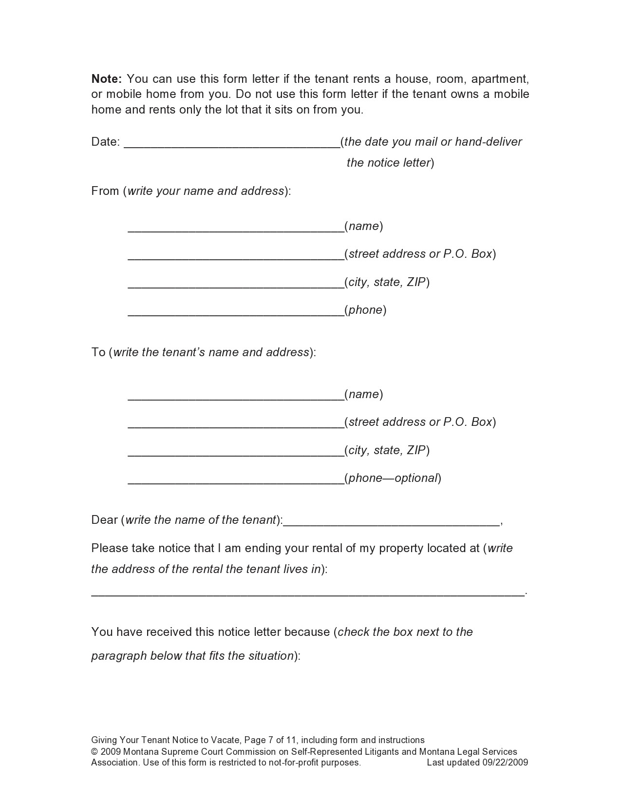 10 Day Eviction Notice Template from templatelab.com