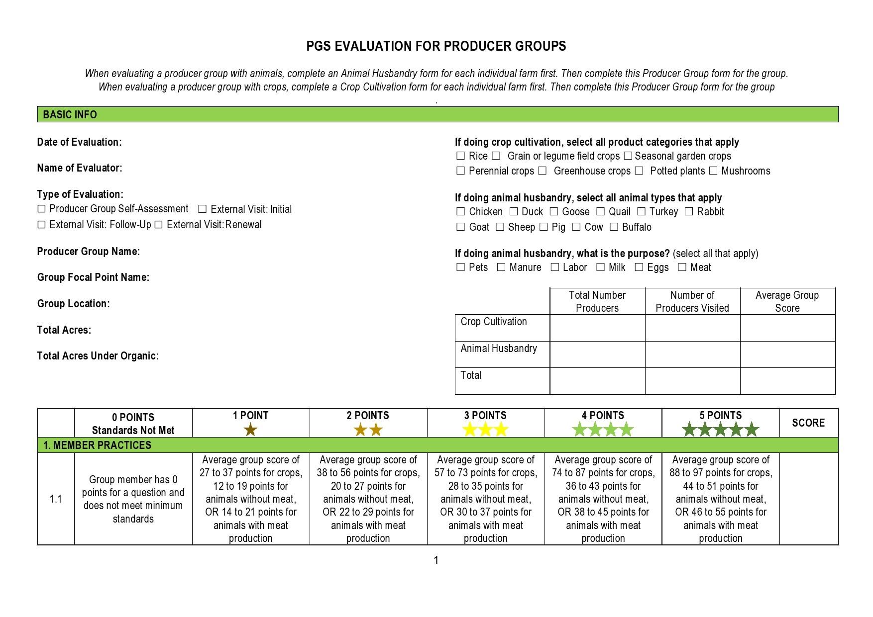 Free peer evaluation form 37