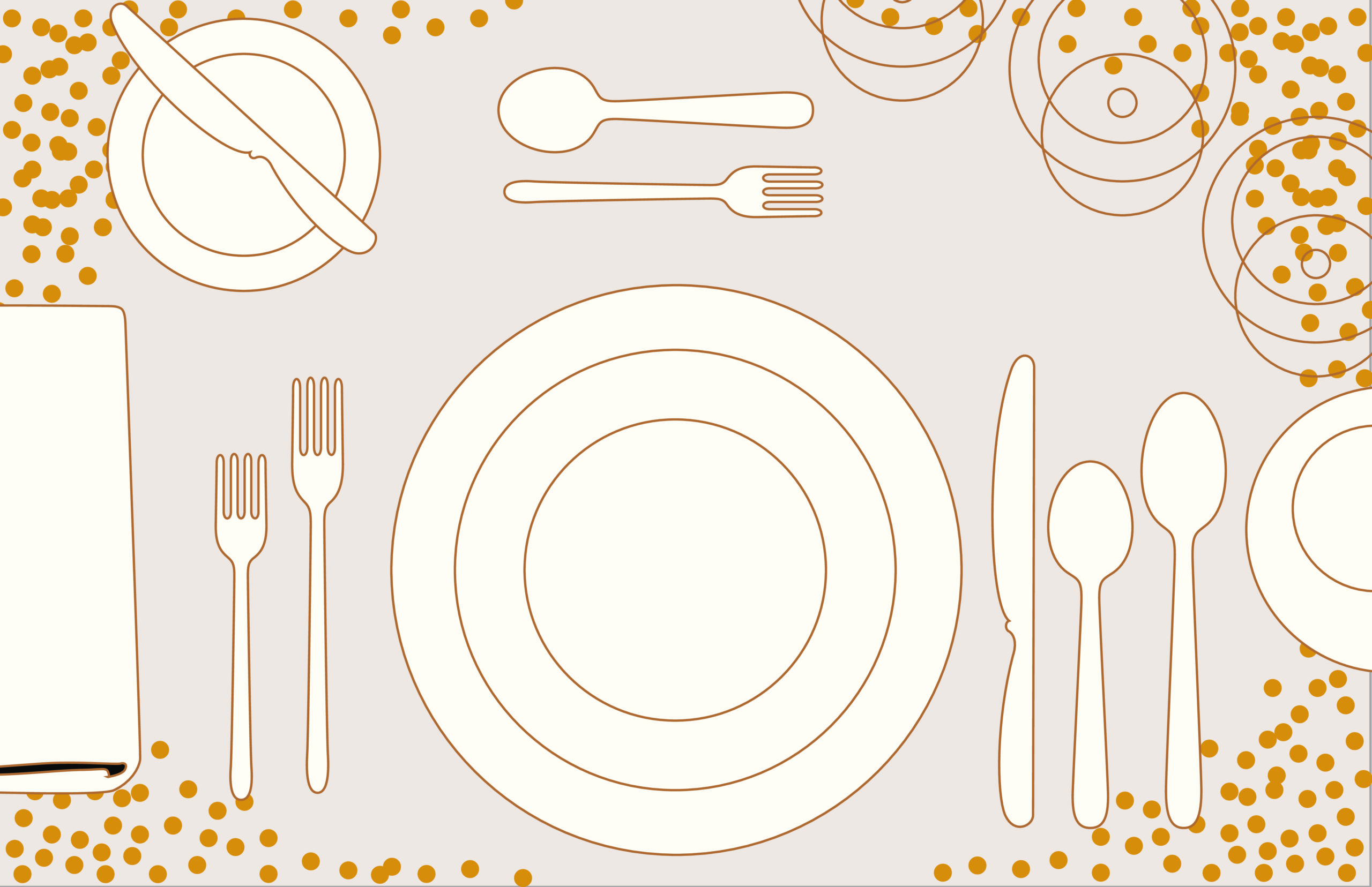 Free place setting template 05