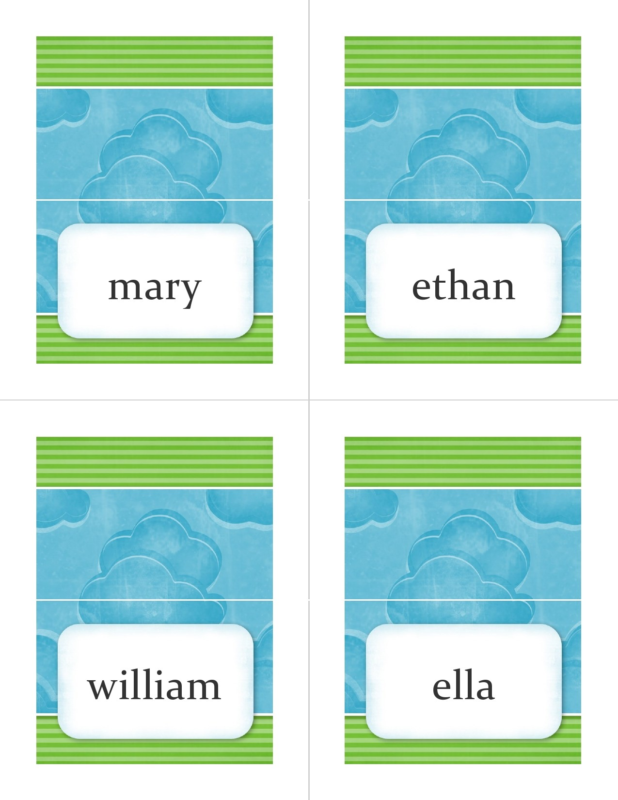 Free place setting template 07