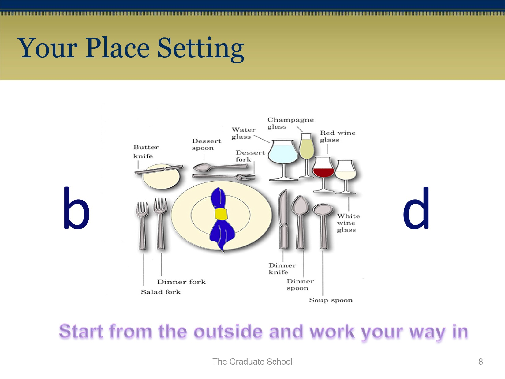 Free place setting template 37