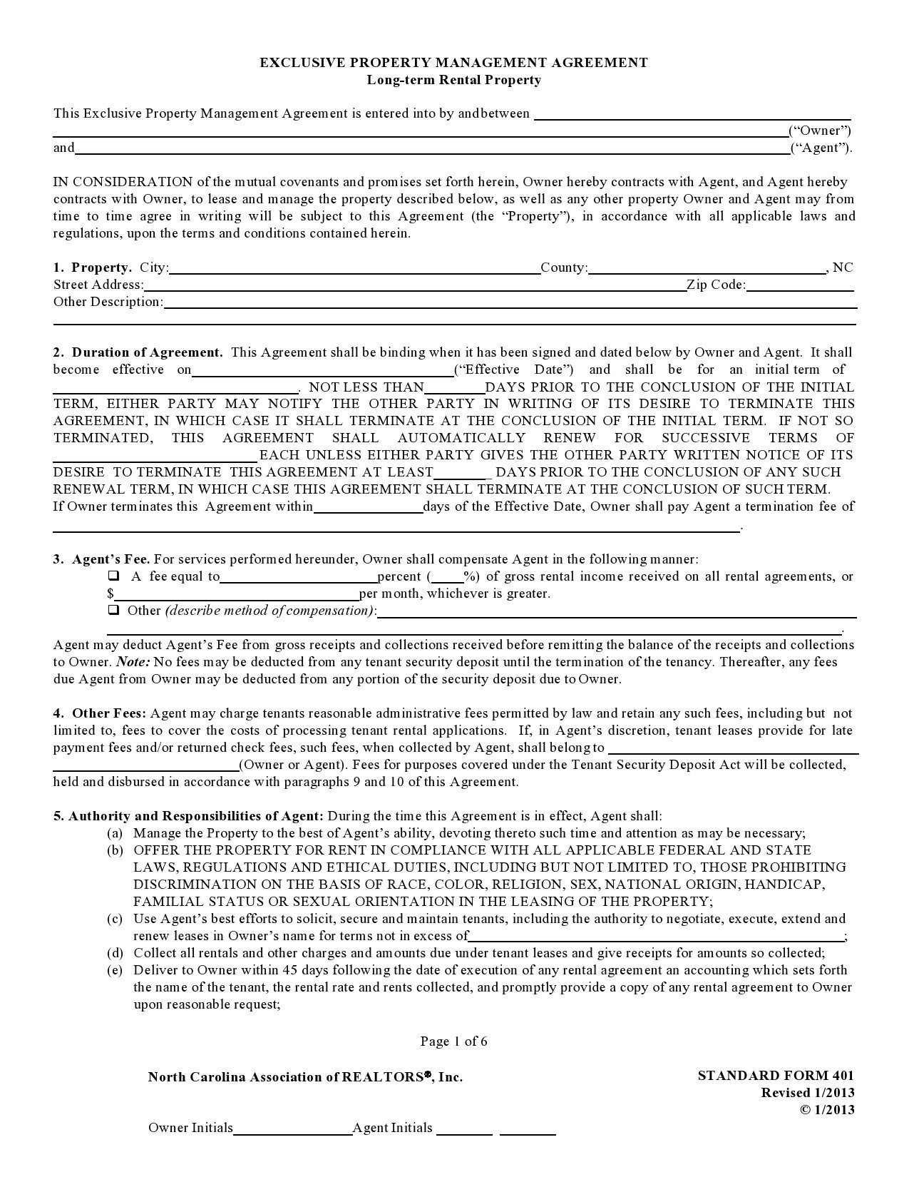 Free property management agreement 24