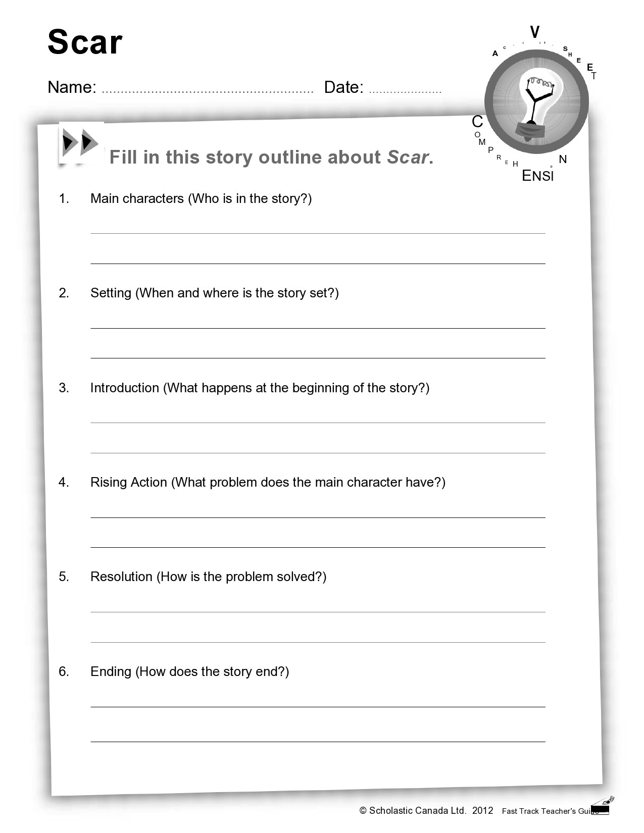 Free story outline template 33
