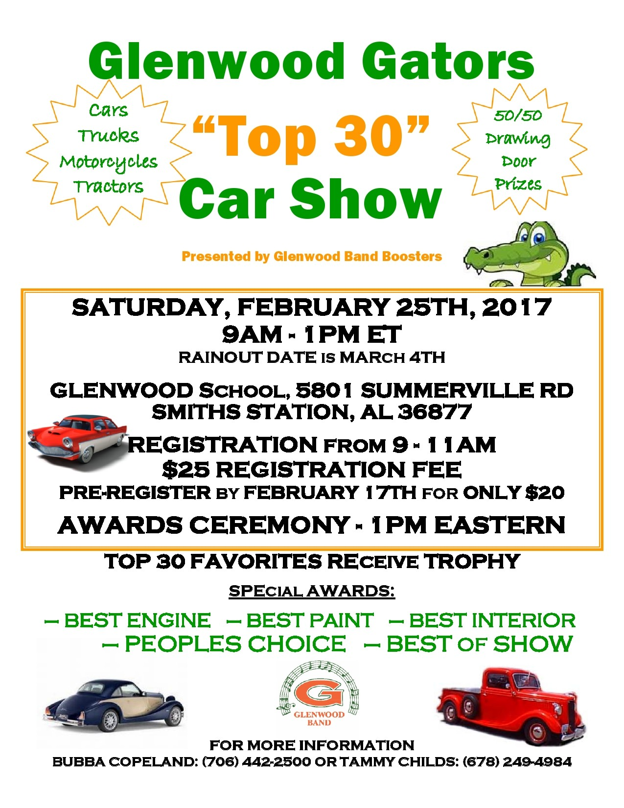 Free car show flyer 01
