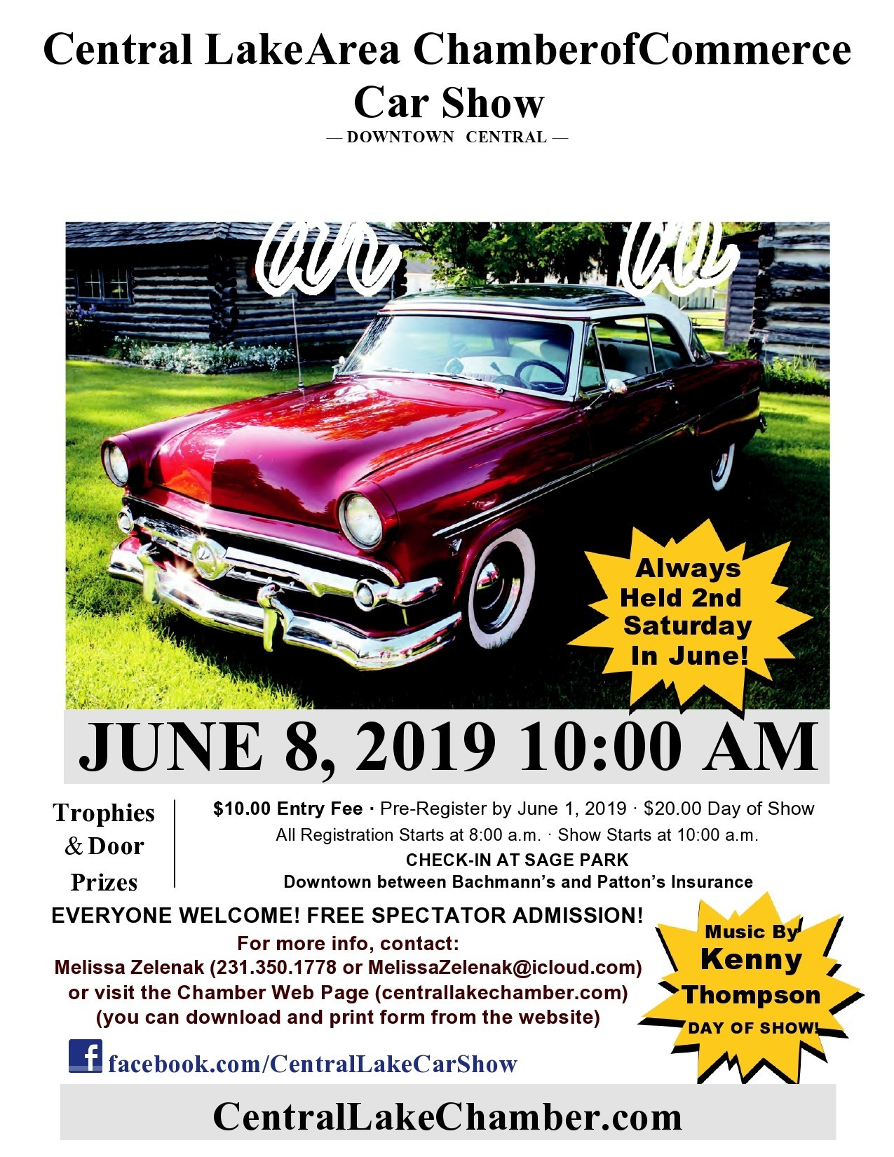 Free car show flyer 02
