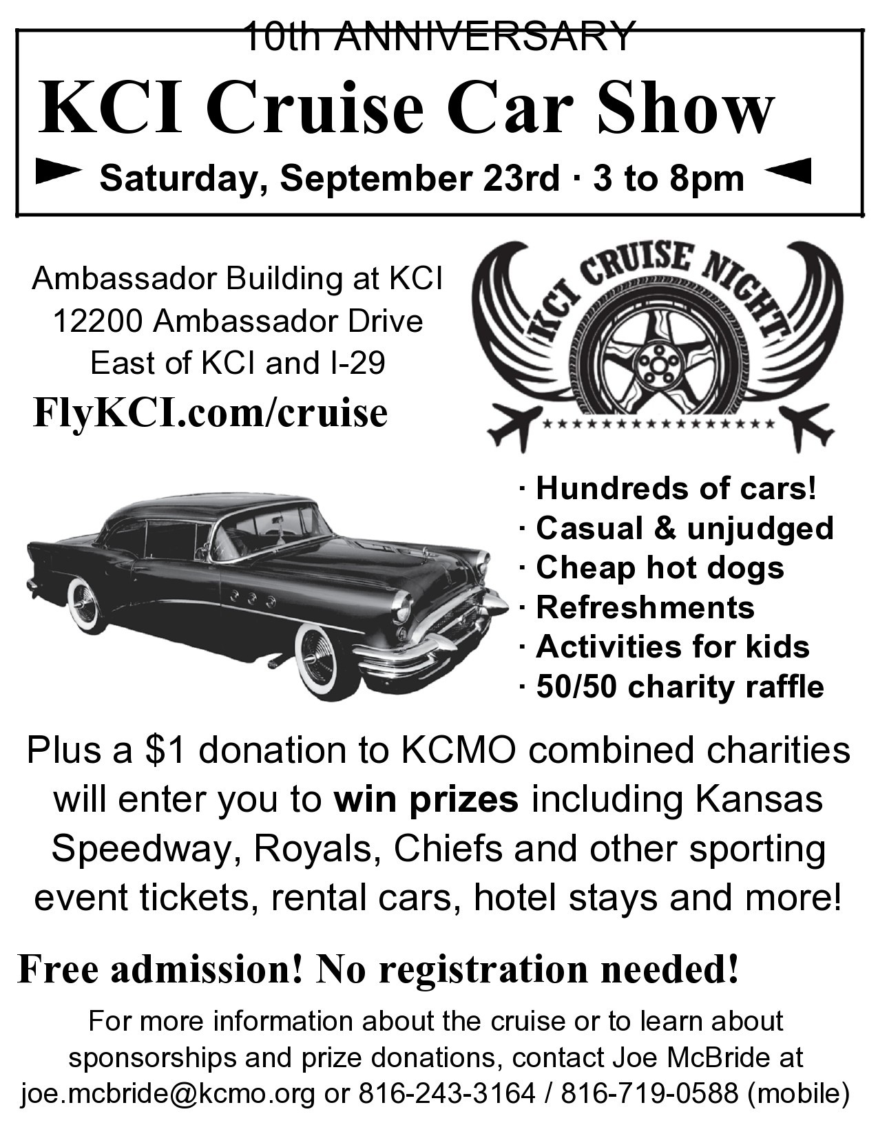 Free car show flyer 03