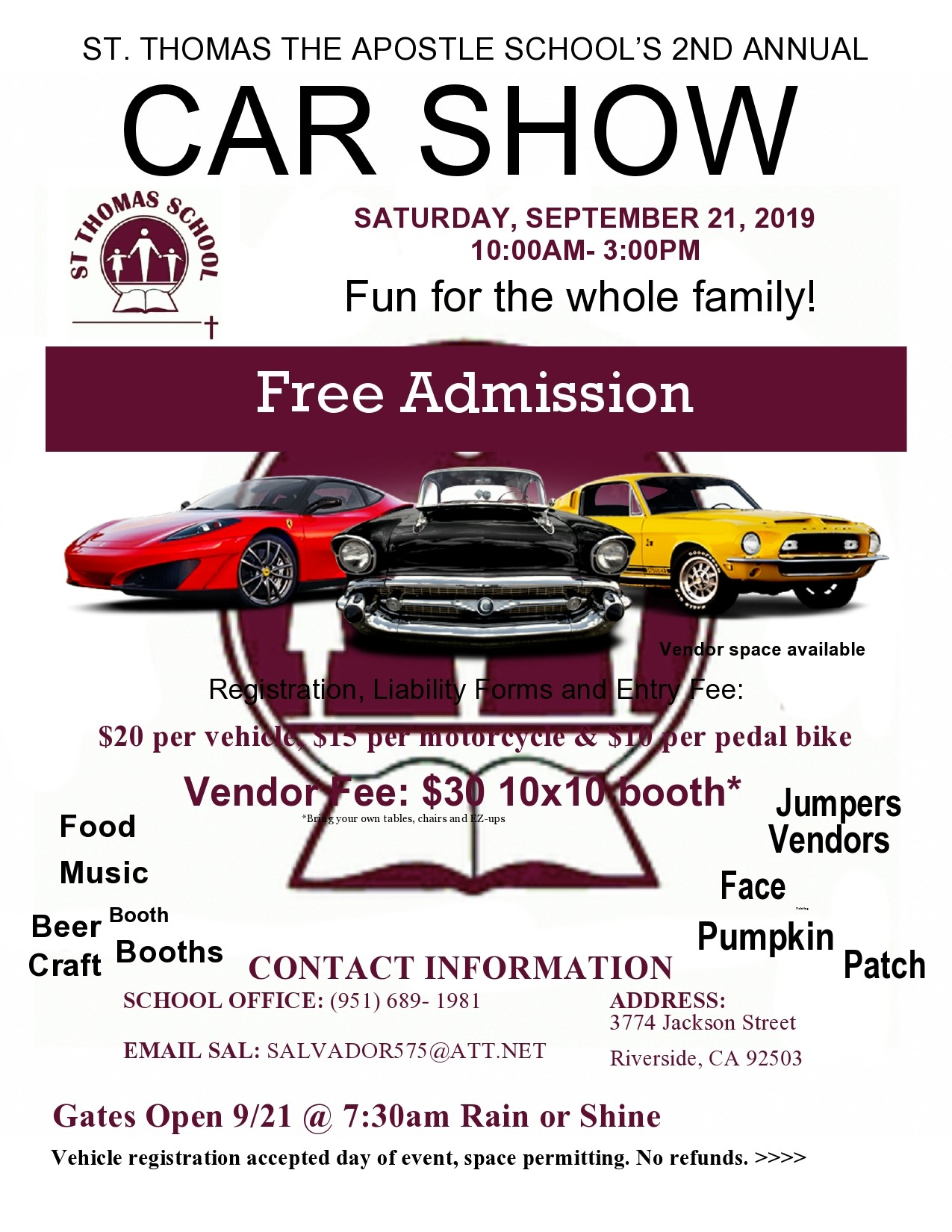 Free car show flyer 04