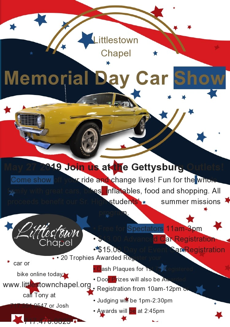 Free car show flyer 07