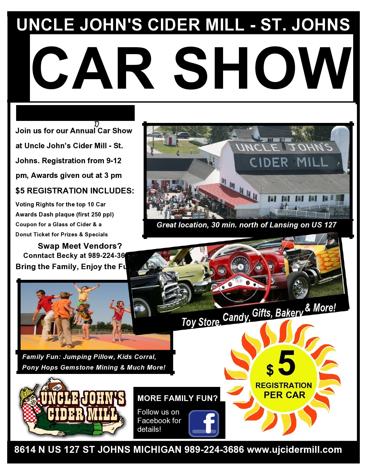 Free car show flyer 08