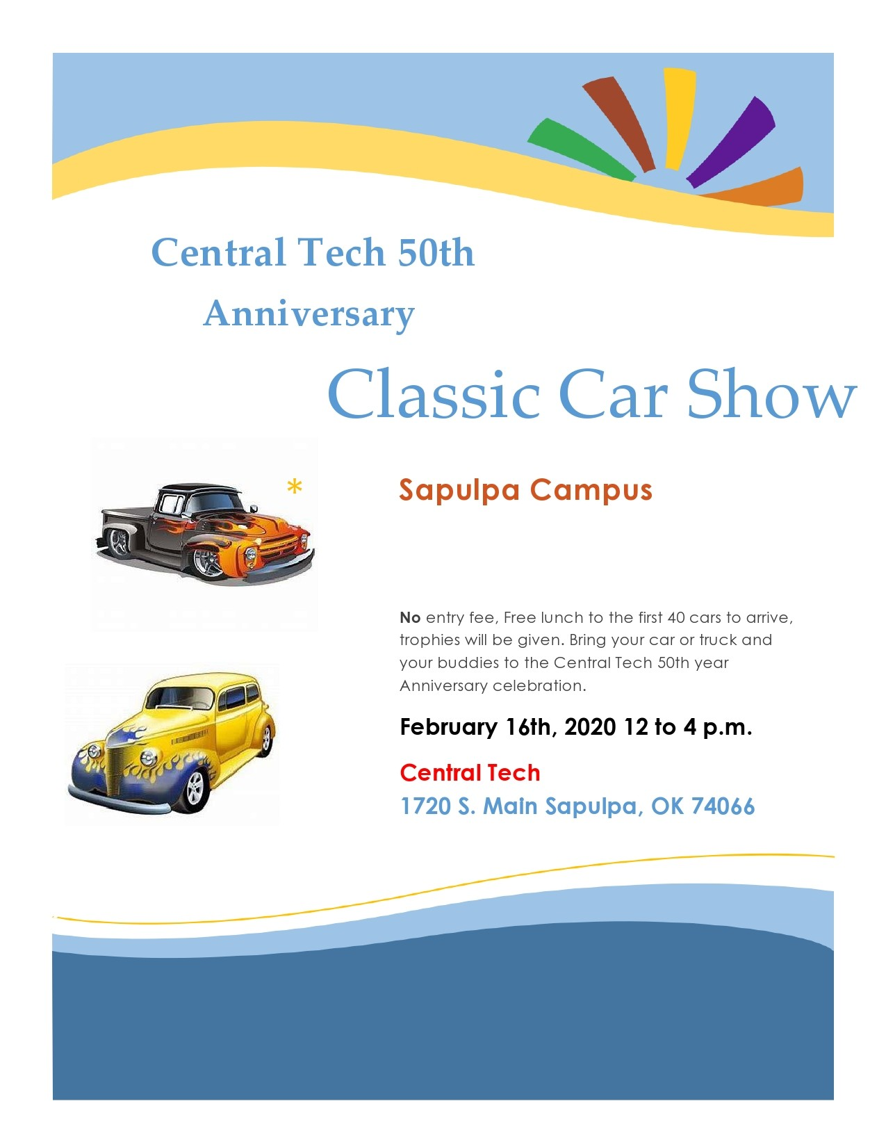 Free car show flyer 10