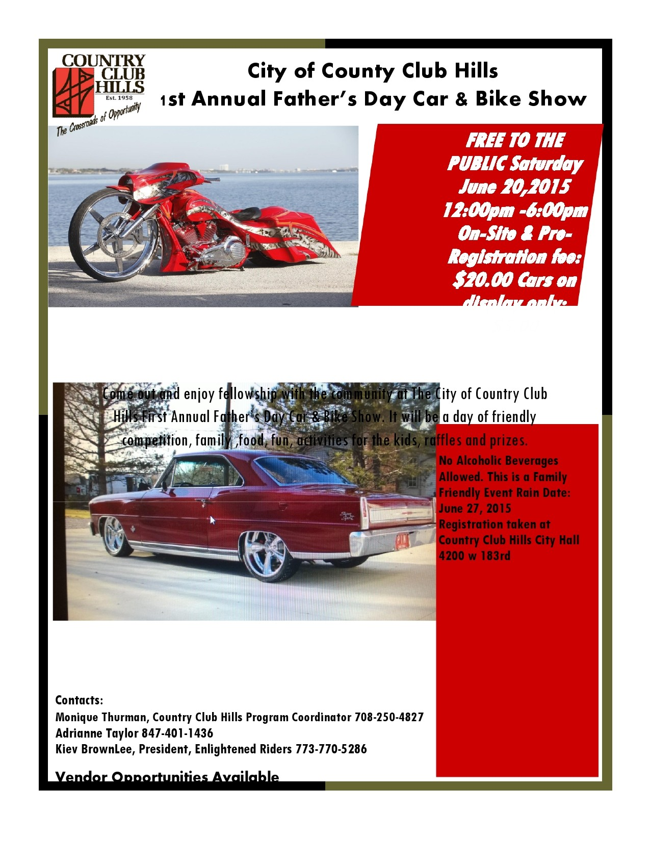 Free car show flyer 11