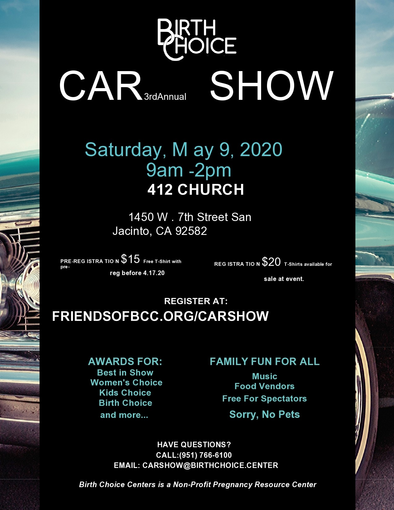 Free car show flyer 12