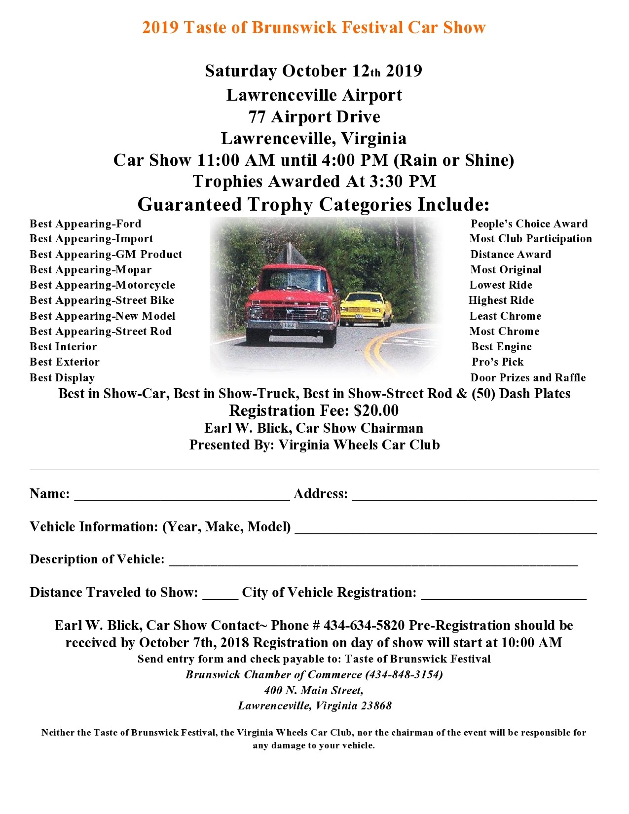 Free car show flyer 15