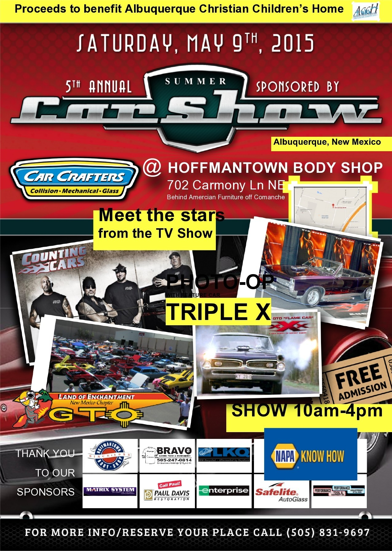 Free car show flyer 17
