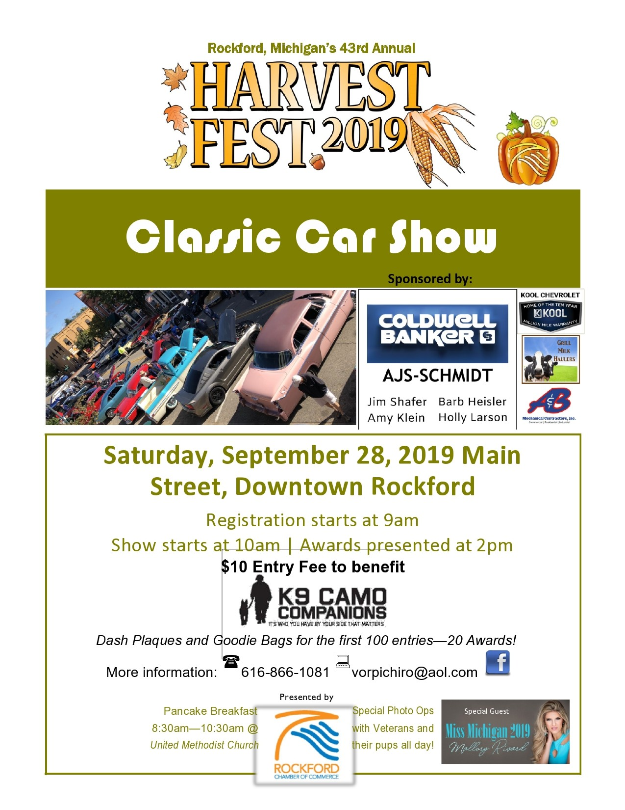 Free car show flyer 20