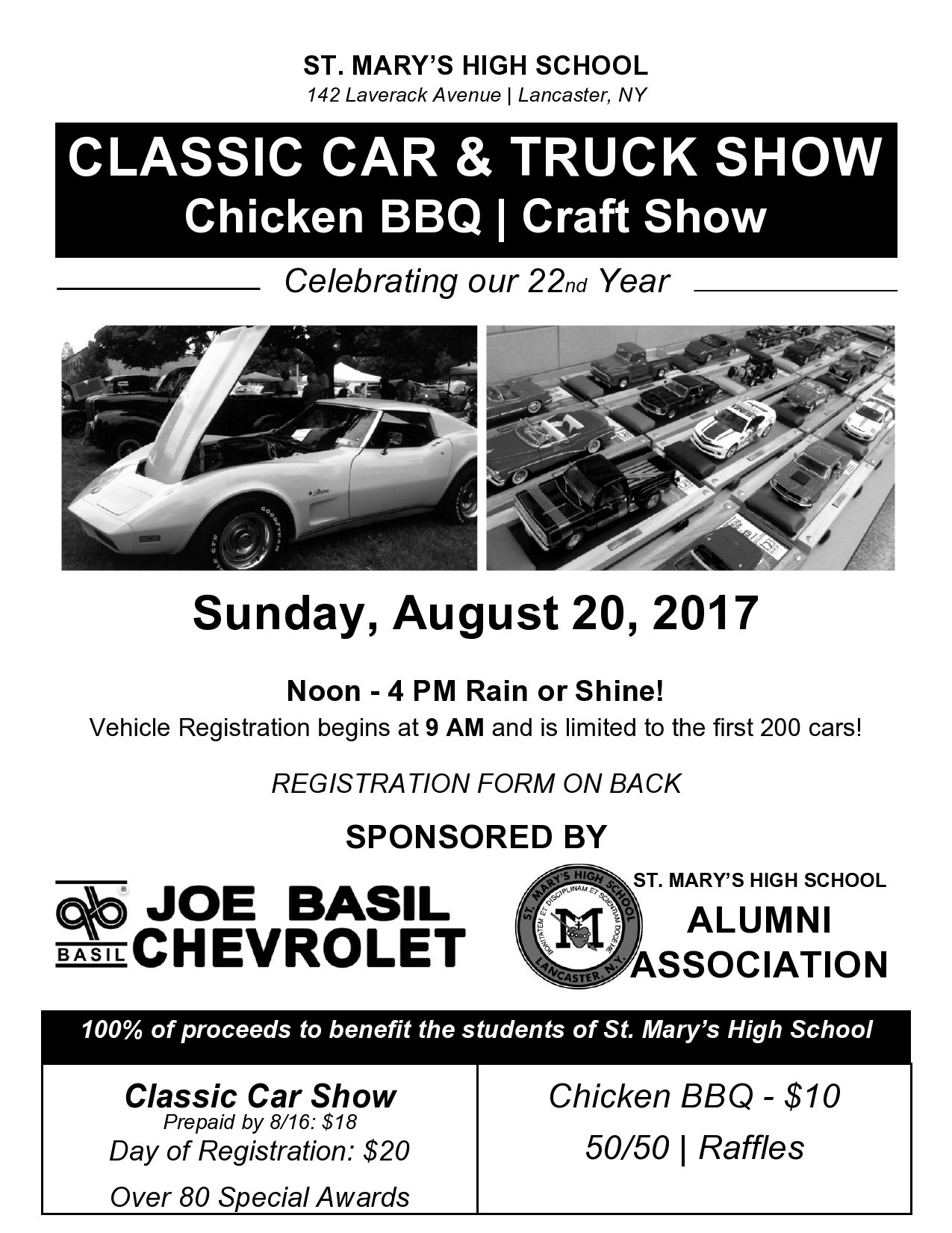 Free car show flyer 21