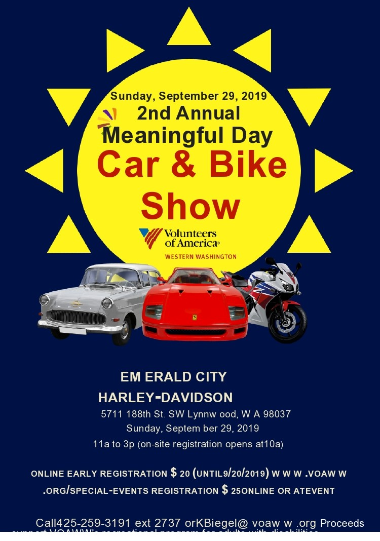 Free car show flyer 22