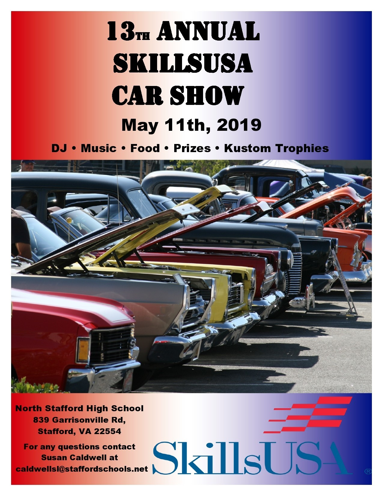 Free car show flyer 23