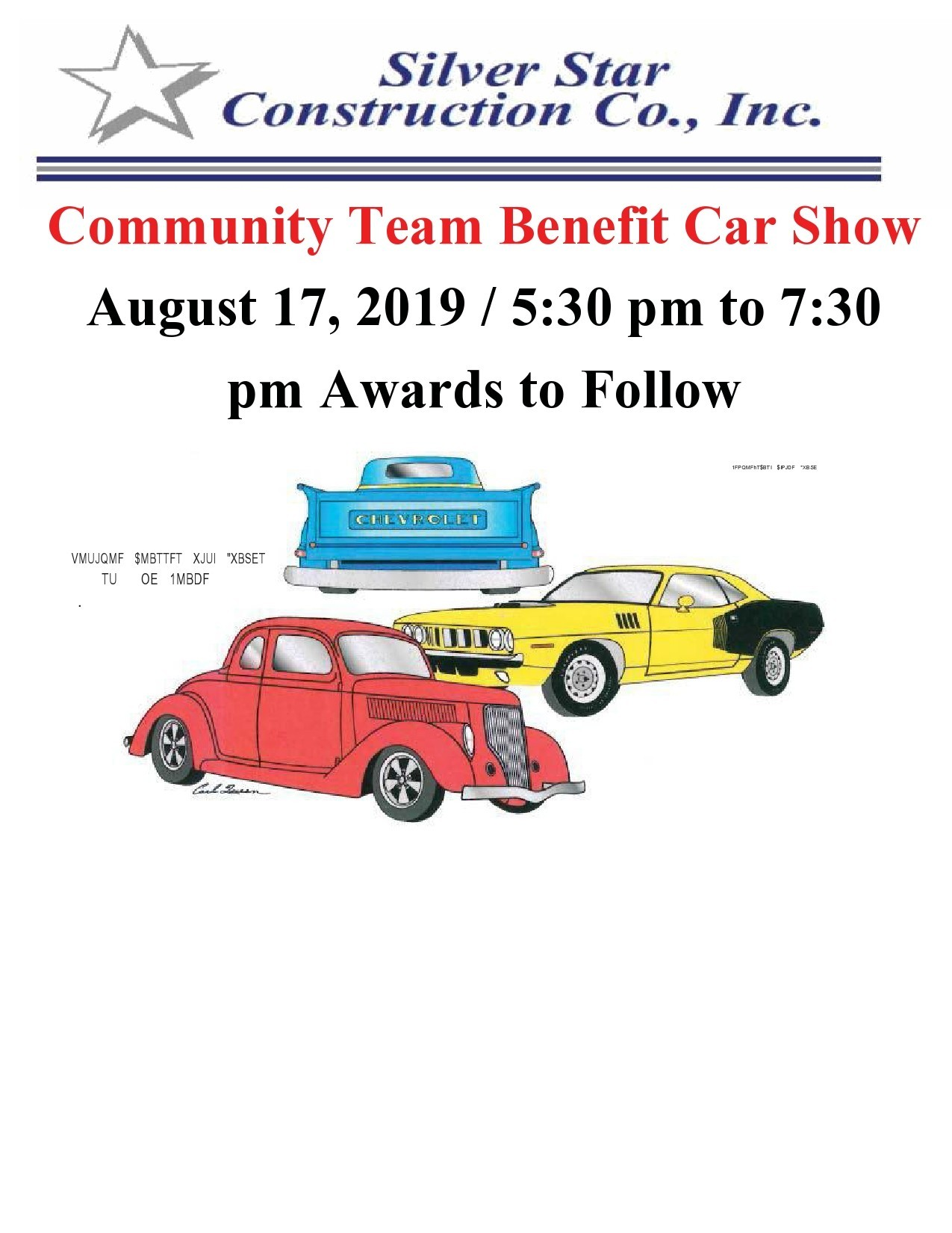 Free car show flyer 25