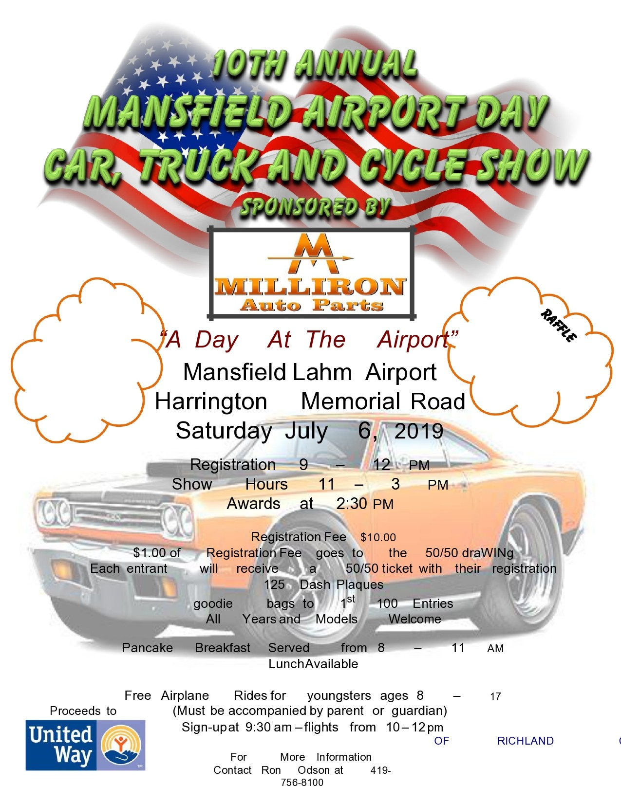 Free car show flyer 28