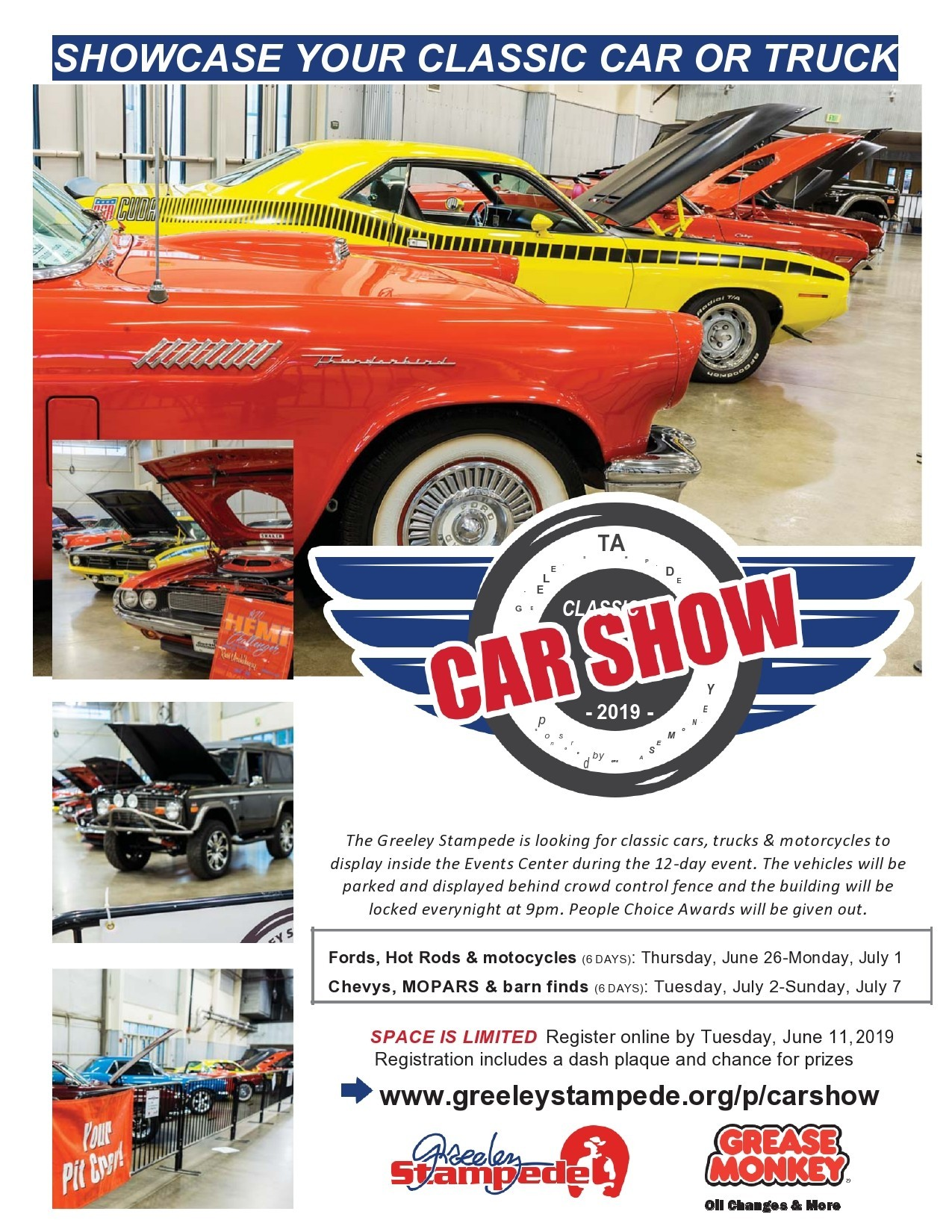 Free car show flyer 30