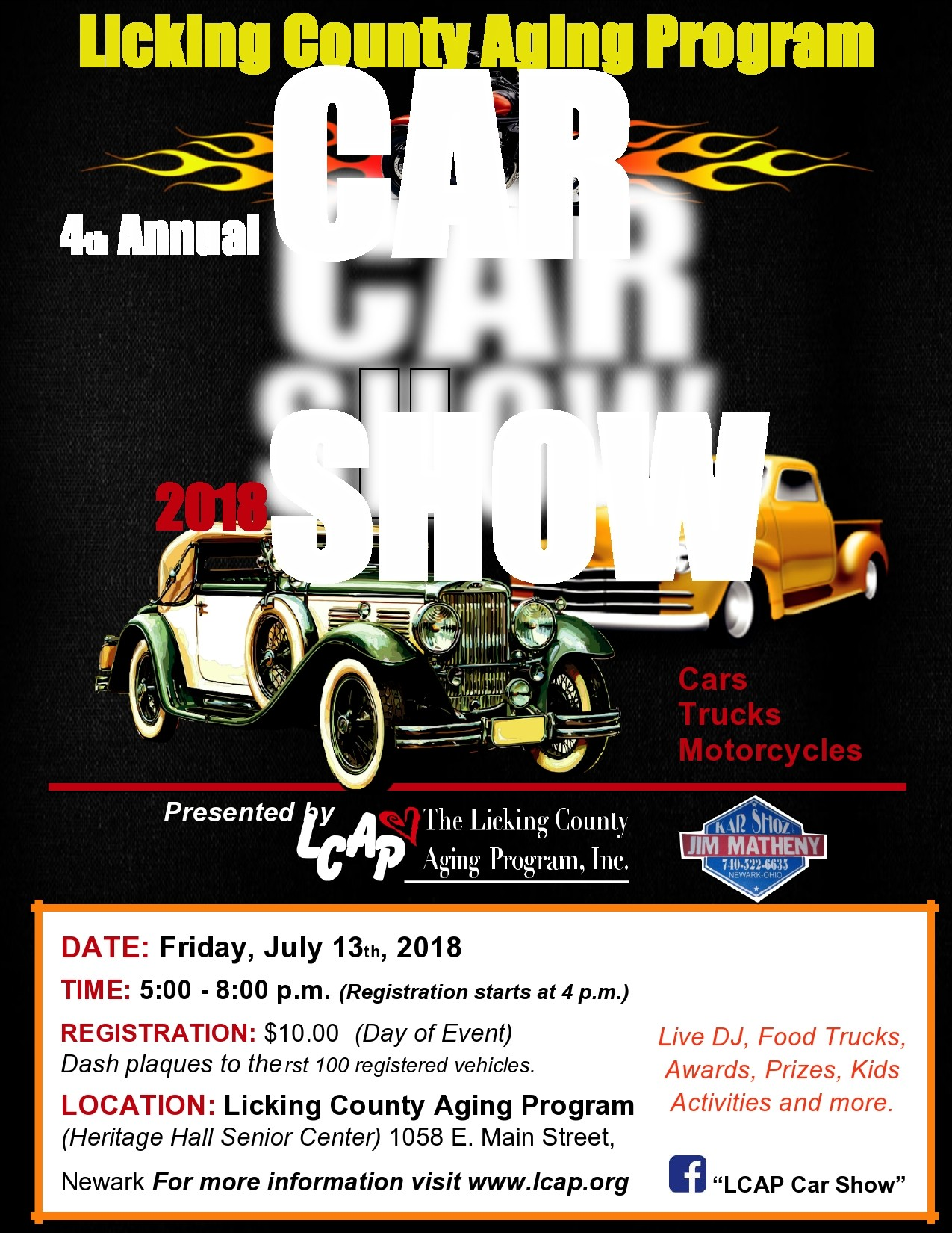 Free car show flyer 31